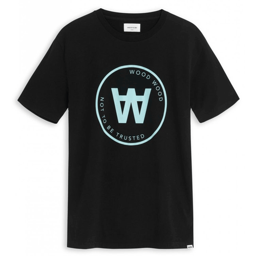 Wood Wood Seal T-Shirt Black