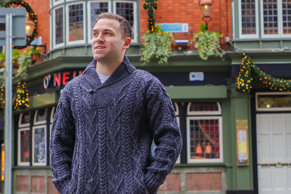 Why An Aran Irish Knitwear Sweater Is Better and Warmer Than Most Sweaters You'll Buy In the U.S.