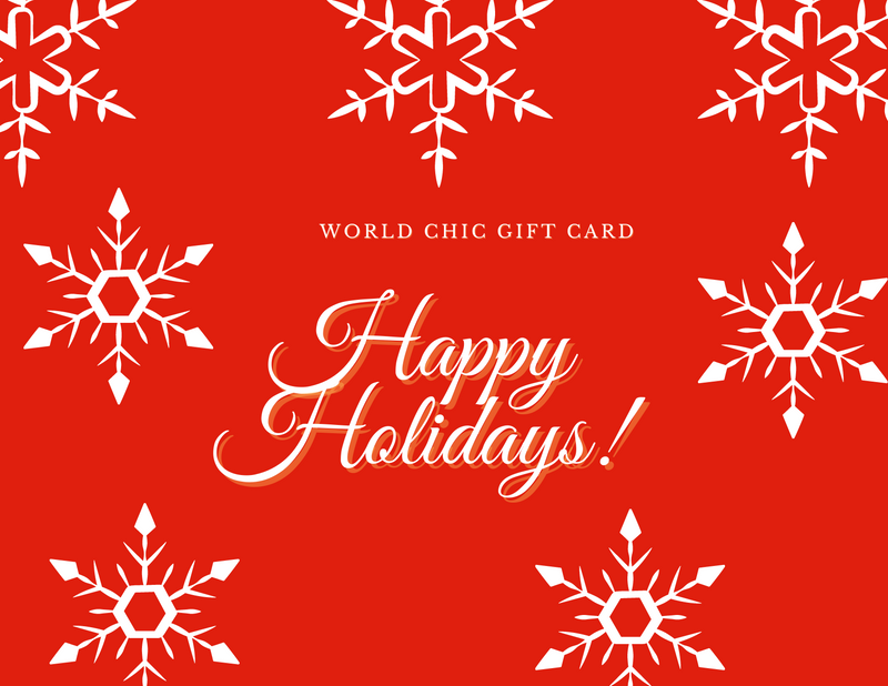 World Chic Gift Card
