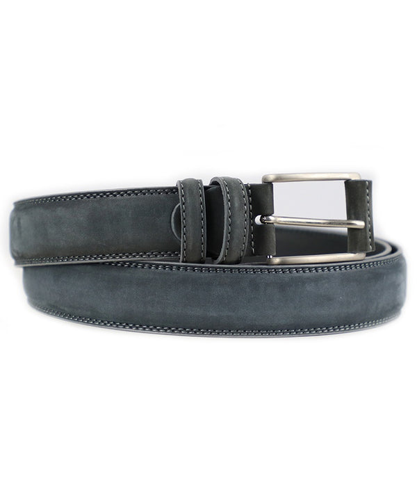 Nubuck Belt - Gray
