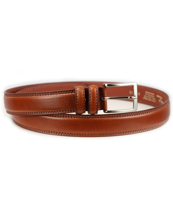 Double Stitched Belt - Tan
