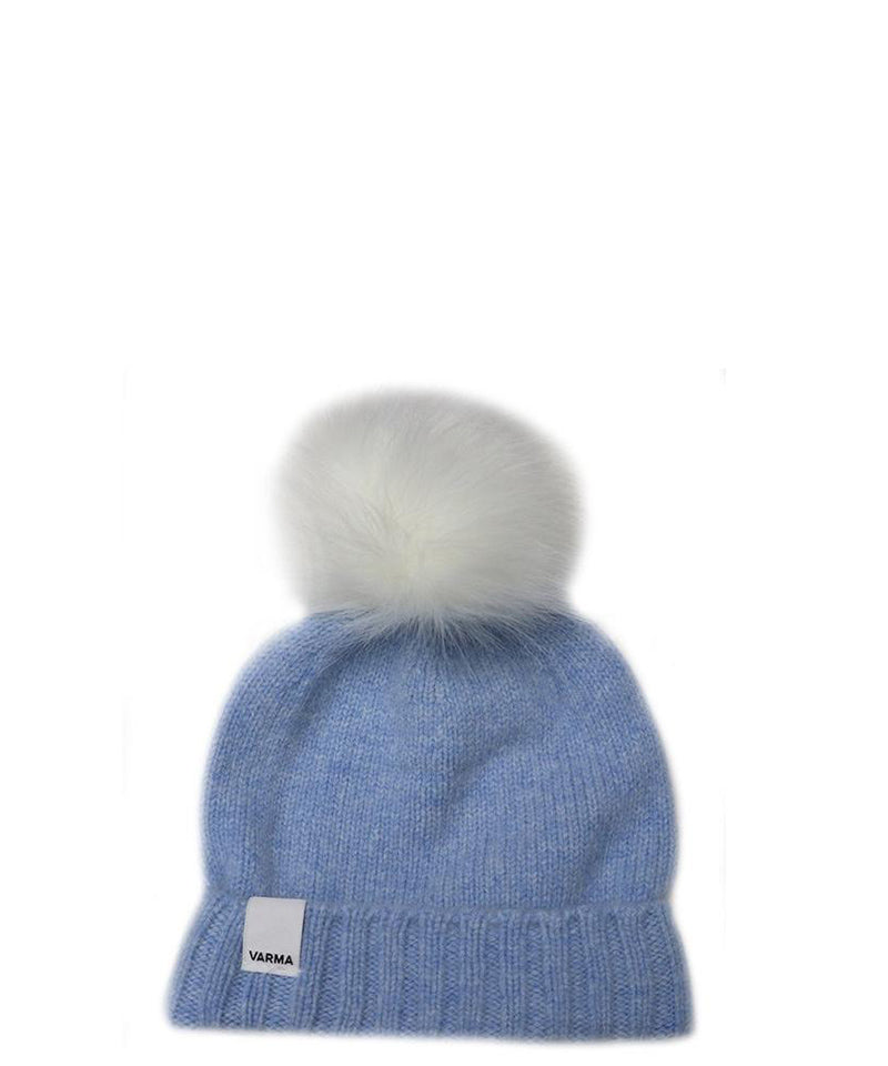 Baby Beanie with Faux Fur