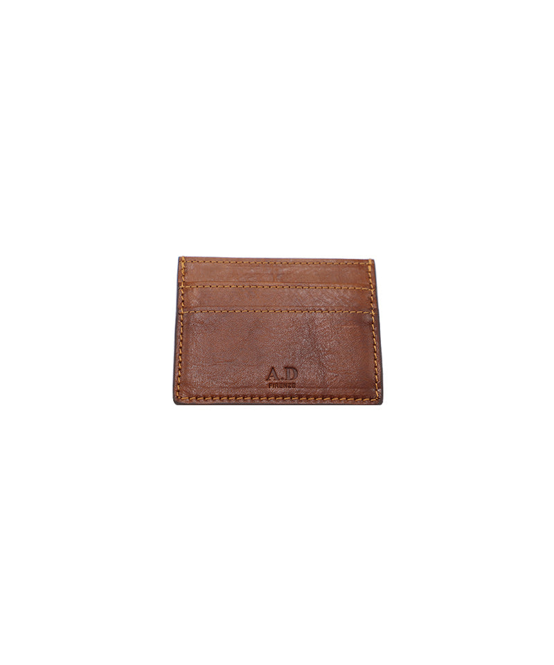 A.D. Small Wallet Brown