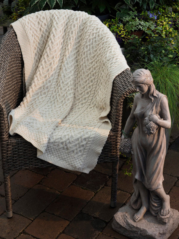 Irish Knit Blankets
