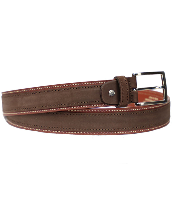 Two Toned Belt - Tan/Brown