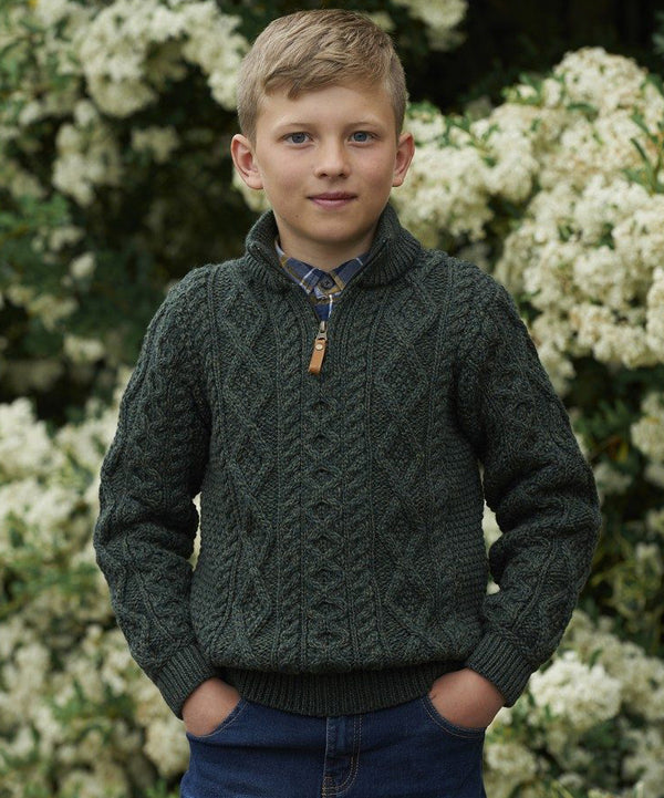 Kids Half Zip Knit