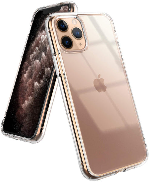 Apple iPhone 11 Pro Case - Crystal Clear Reinforced Corners Hard Shell Cover Fit
