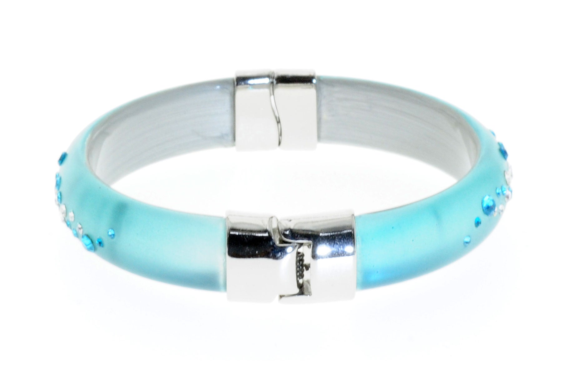 TSL Bangles Light Blue-Rh-S-Sw