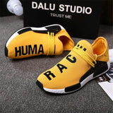 Shoes Man Outdoor Trainers Ultra Boosts Autumn Designer Sneakers Men Women Yellow Breathable Casual Shoes Human Race Tenis 39-47