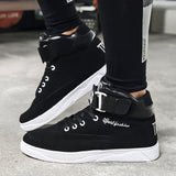 Mazefeng 2018 Spring Men Casual shoes Hard-Wearing high-top Shoes Men Sneaker Lace-up Trend Men Flats Shoes Breathable Male Flat