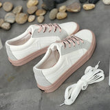 Women Casual Shoes Mixed Colors Lace Up Female Fashion Sneakers Tenis Feminino Zapatillas Deportivas Mujer Chaussure Femme 35-40