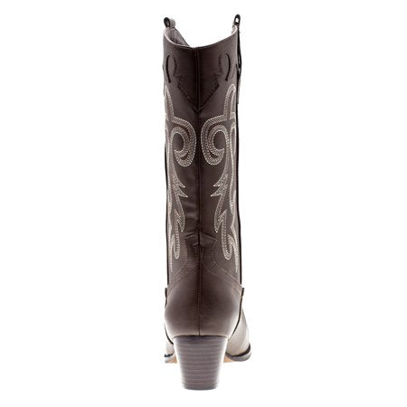 Canyon Trails Women's Embroidered Western Rodeo Cowboy Boots