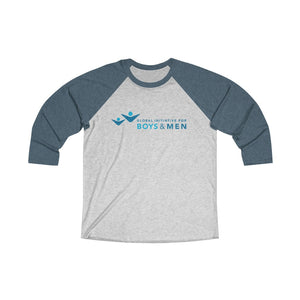 Tri-Blend 3/4 Raglan Tee for Men and Women