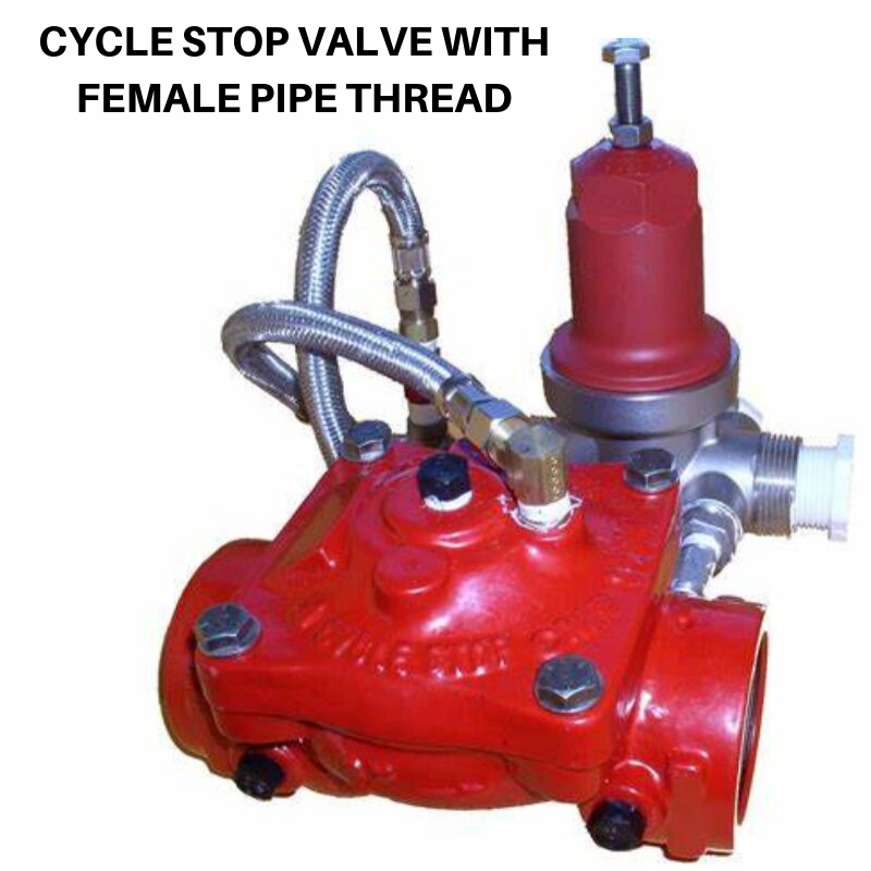 CYCLE STOP VALVE