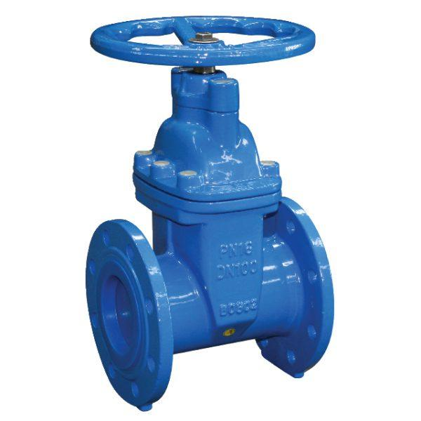 FLANGED IRON GATE VALVE