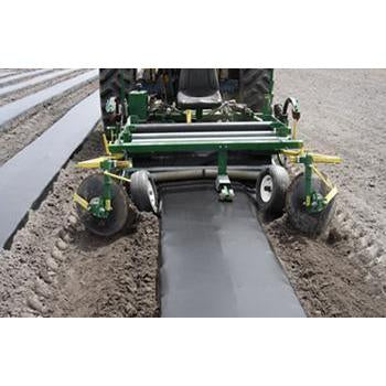 ROLL PLASTIC MULCH WHITE/BLACK
