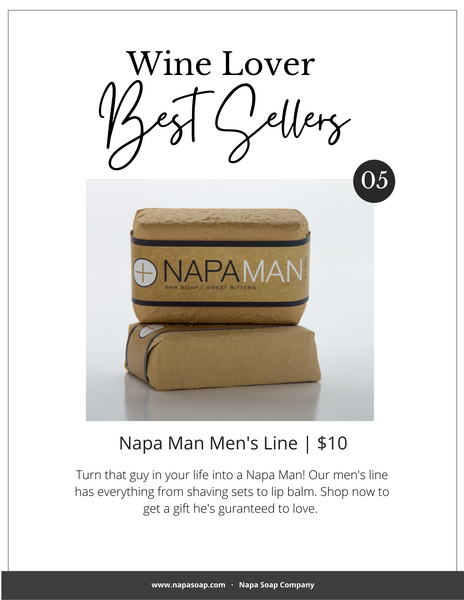 NapaMan bar soap