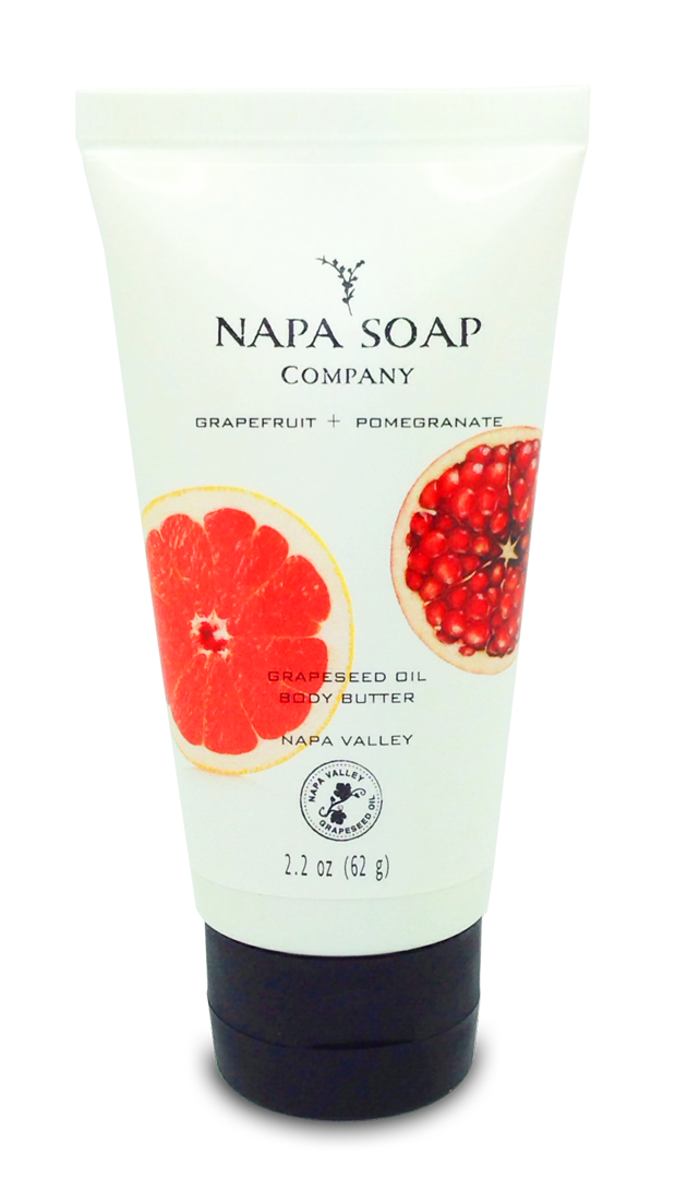 Grapefruit Pomegranate Body Butter 2 oz. - Napa Soap Company