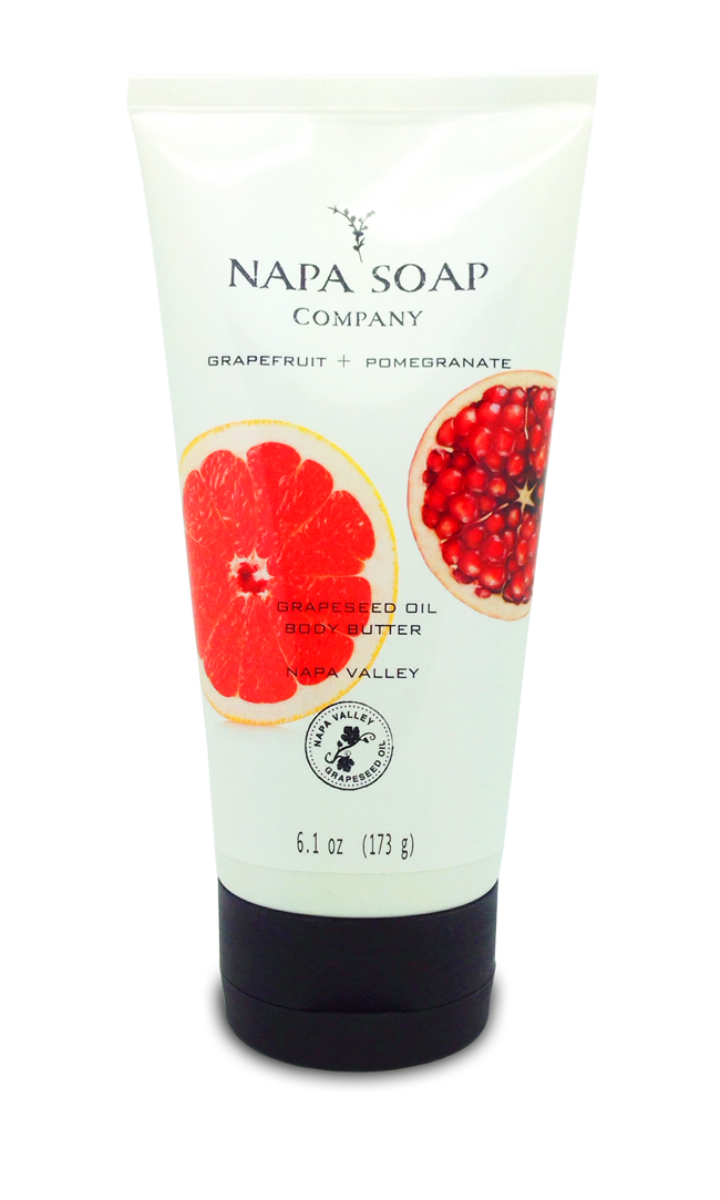 Grapefruit Pomegranate Body Butter 6 oz. - Napa Soap Company