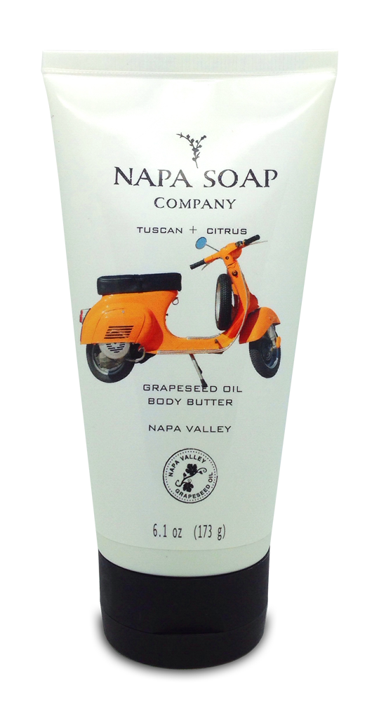 Tuscan Citrus Zest Body Butter - 6 oz. - Napa Soap Company