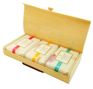 3 Bar Gift Box - Napa Soap Company