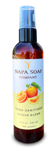 Hand Sanitizer Citrus Blend - Napa Soap Company