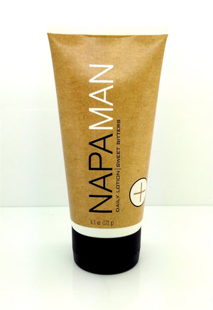 Napa Man Daily Lotion - Sweet Bitters - Napa Soap Company