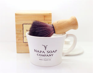 Ceramic Shaving Soap Gift Set - Napa Soap Company