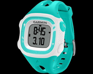 Garmin Forerunner® 15 Teal/White (Regular)  (Newly Overhauled)