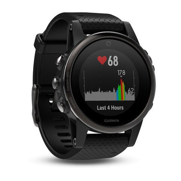 Garmin fēnix® 5S Black Sapphire with Black Band (Newly Overhauled)