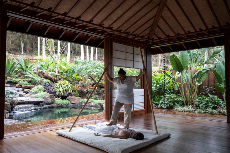 Sensei Spa Lanai at Four Seasons Resort