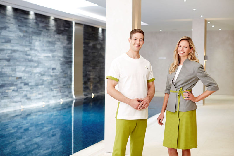 luxury uniforms for resorts