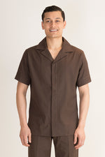 Male Spa Tunic brown - Fashionizer Spa