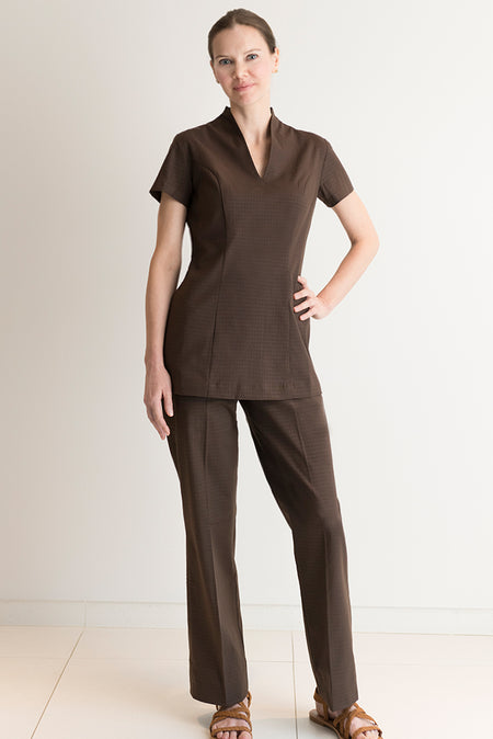 Alitha Spa Dress Brown