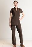 Aria Spa Trouser Brown - Fashionizer Spa