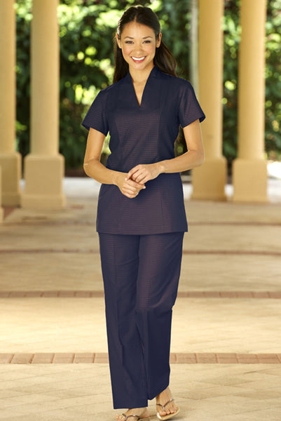 Aria Trousers Navy - Fashionizer Spa