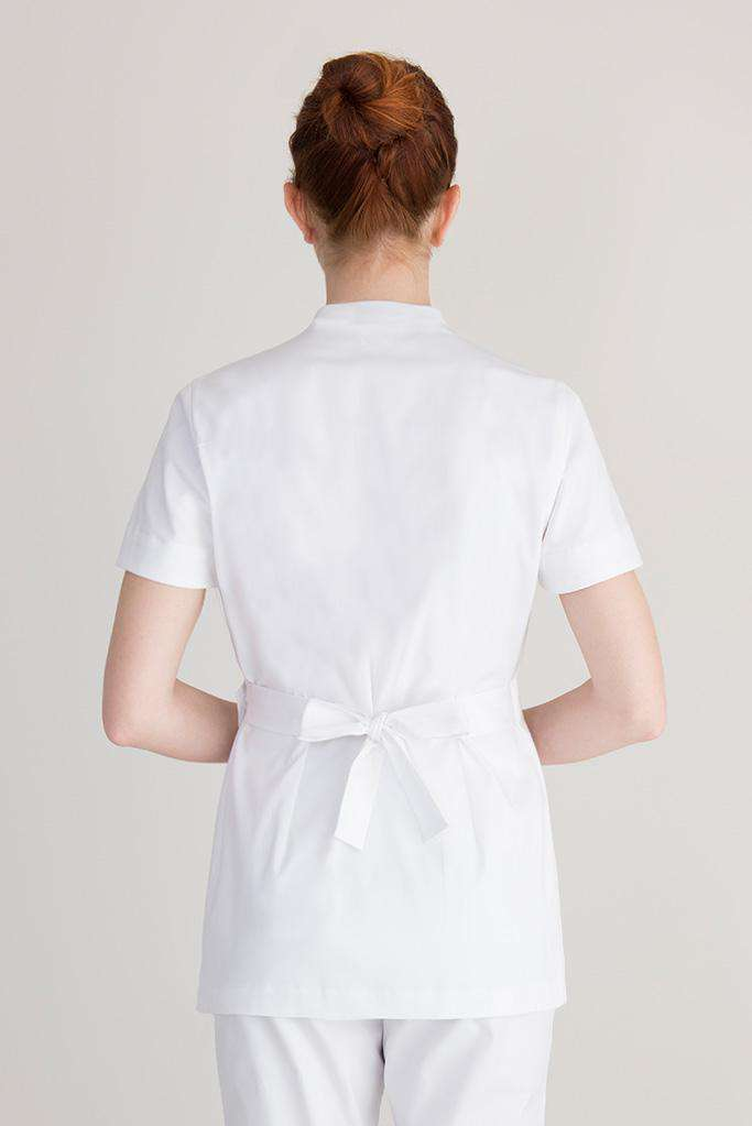 White tunic for therapist