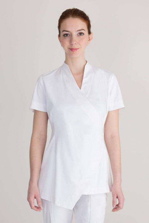 Aurora Spa Tunic White - Fashionizer Spa