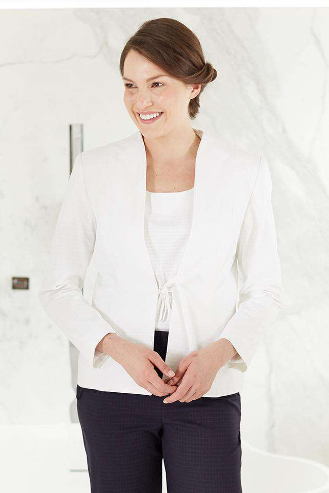 Azla Jacket White - Fashionizer Spa
