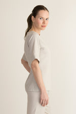 Womens Spa Tunic Wheat - Fashionizer Spa