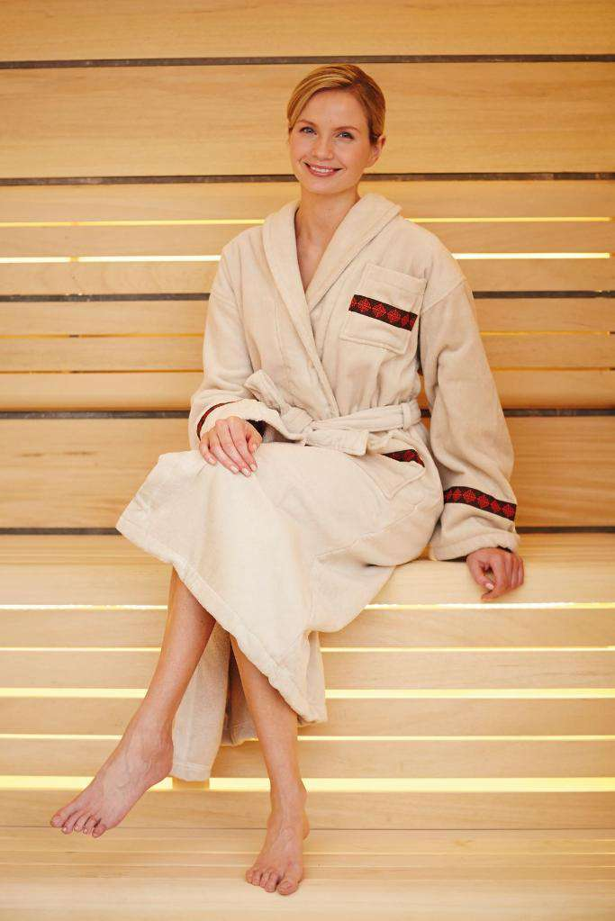 3c50109b73 Spa Bathrobe Beige – Fashionizer Spa