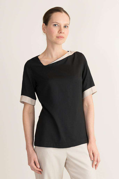 Bara Spa Tunic Black - Fashionizer Spa