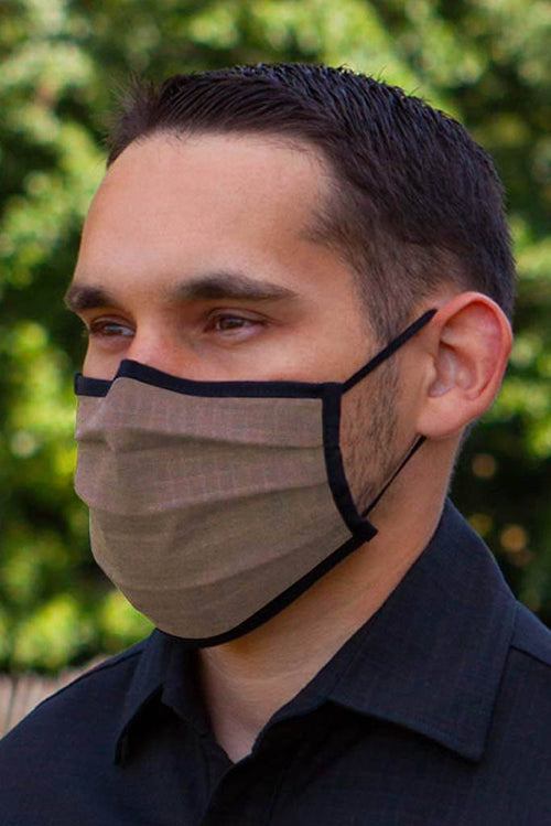 Mens neutral face mask