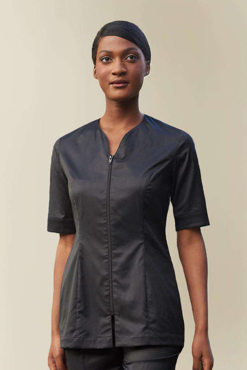 Sustainable Spa Tunic Black
