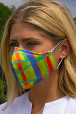 Colorful printed face mask