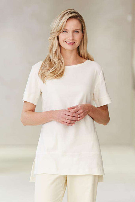 Una Spa Tunic White