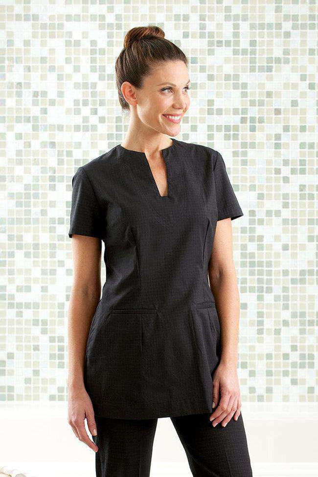 Mira Spa Tunic Black - Fashionizer Spa