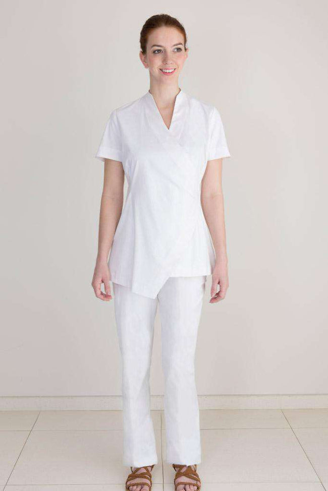 Elissa Spa Trouser White - Fashionizer Spa