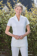 cotton uniform for spa therapist