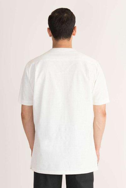 Mens Spa Tunic Cream - Fashionizer Spa